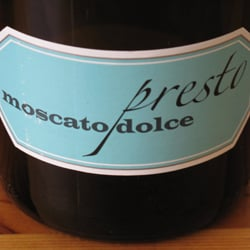 Wine Review: Presto Moscato Dolce