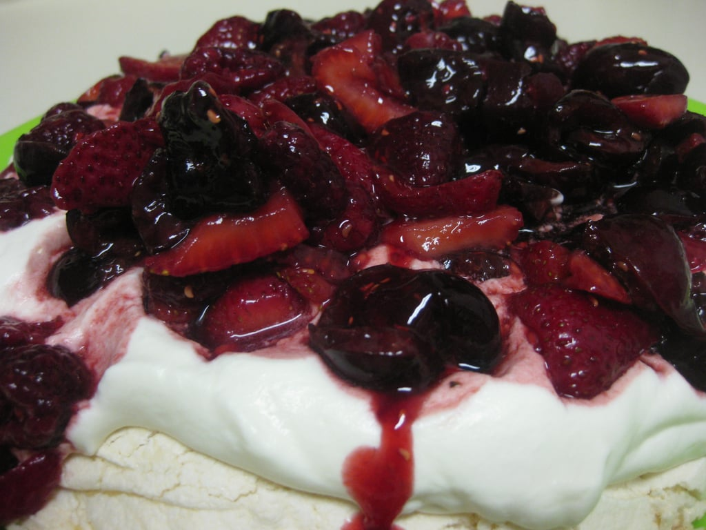 Mixed Berry Pavlova