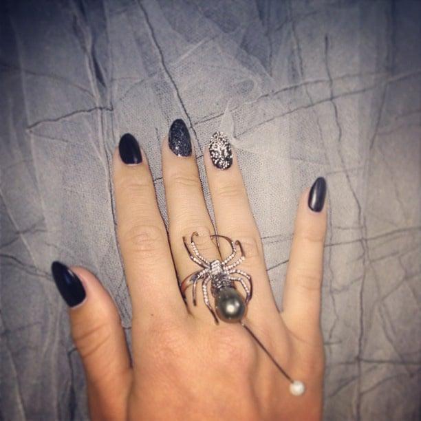 Julianne Hough previewed her look. Source: Instagram user juleshough