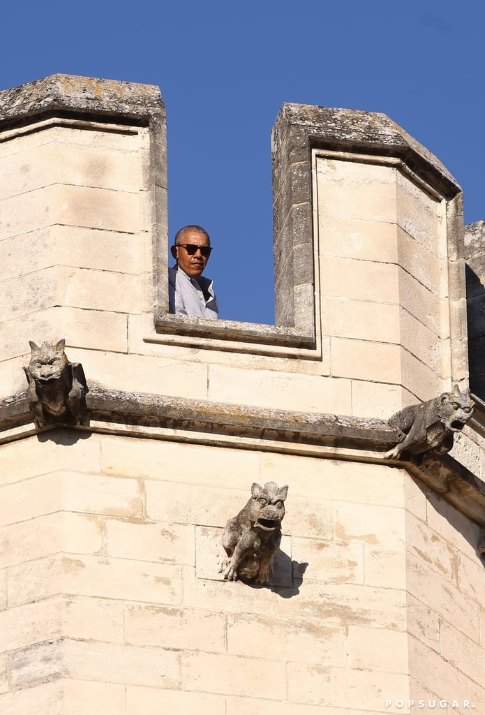 Barack Obama Is Livin' It Up