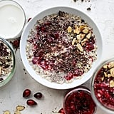 Leftover Cranberry Sauce Dark Chocolate Overnight Oats