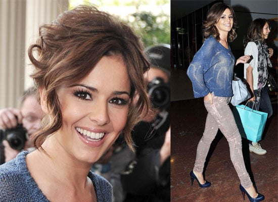Photos of Cheryl Cole in Paris