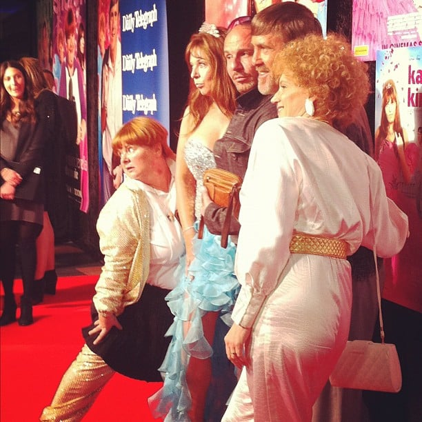 Ali and Jess got a little foxy at the premiere of Kath & Kimderella in Sydney on Tuesday night.
