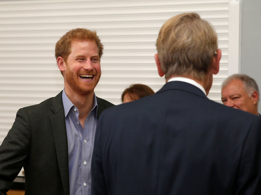 Look Away, Meghan! Prince Harry Reunites With His Other No. 1 Girl, 99-Year-Old Winnie Hodson