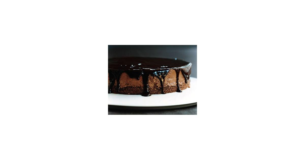 Chocolate Glazed Hazelnut Mousse Cake