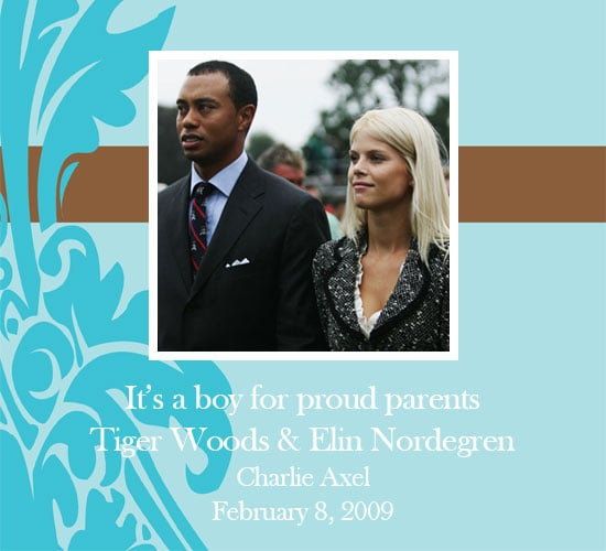 Tiger Woods Welcomes Baby Boy!