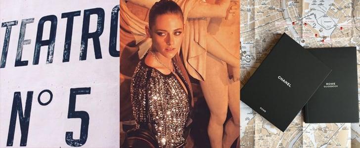 Chanel Metiers d'Art Show in Rome 2015