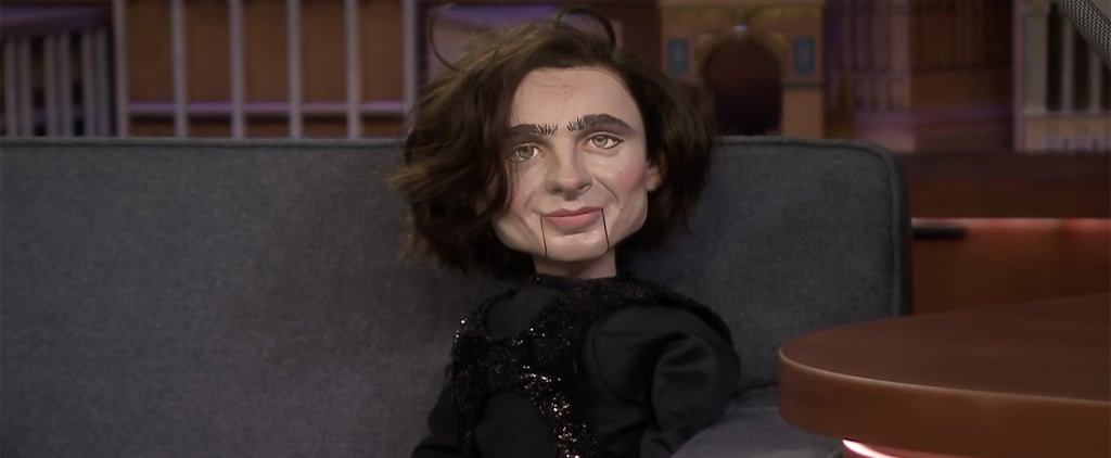 Jimmy Fallon Reveals He Bought Timothée Chalamet Puppet