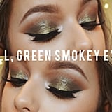 Fall Green Smoky-Eye Tutorial