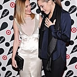 Allison Williams chatted with Kate Bosworth on the red carpet.