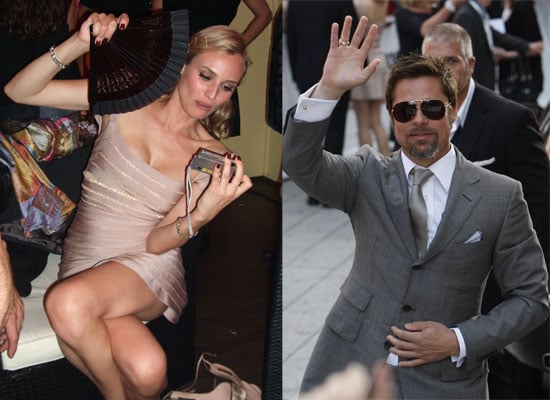 Photos Of Brad Pitt and Diane Kruger Promoting Inglourious Basterds At Berlin Premiere And Partying Afterwards
