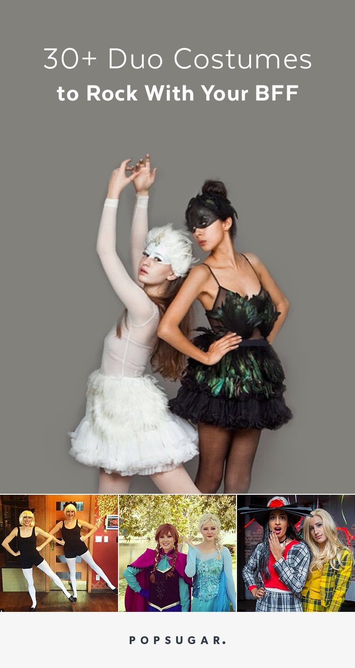Halloween Costumes For Two Friends.Halloween Costumes For Best Friends Popsugar Love Sex