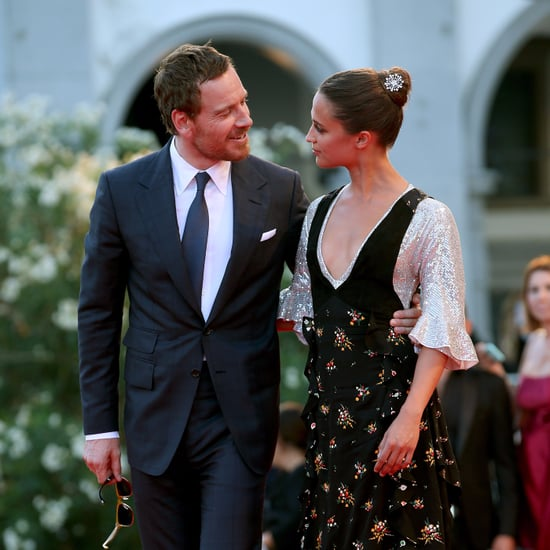 Michael Fassbender and Alicia Vikander Pictures