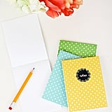 Folded Card Notebooks