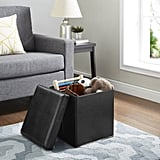 Mainstays Ultra Collapsible Storage Ottoman