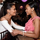 Pictured: Thandie Newton and Zoe Saldana