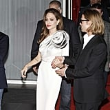 Brad and Angelina Follow Her Premiere With a Dinner Date