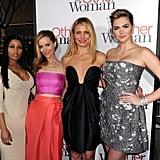 Nicki Minaj, Leslie Mann, Cameron Diaz, and Kate Upton brought The Other Woman to LA on Monday.