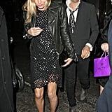 Kate Moss and Jamie Hince went to dinner in London.