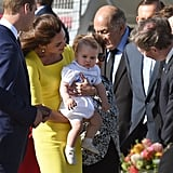 When She Showed George Off During His First Royal Tour in 2014