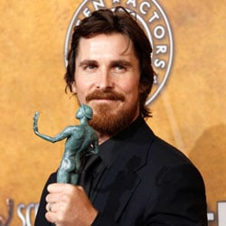 Christian Bale Press Room Quotes at 2011 SAG Awards For The Fighter