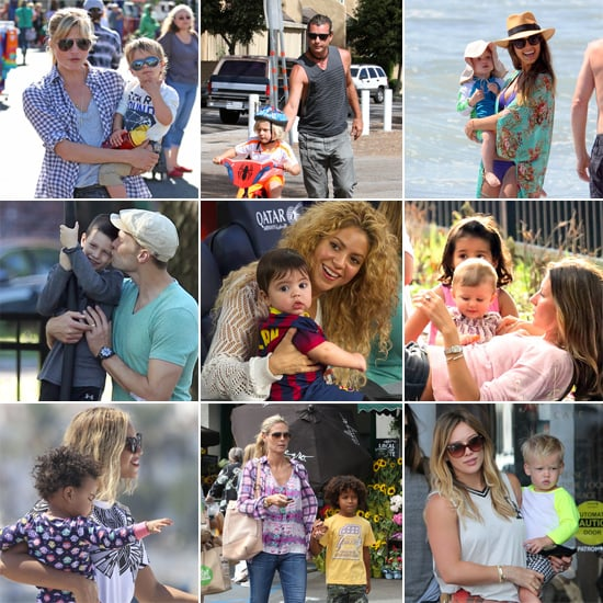 Cute Celebrity Family Pictures | September 2013