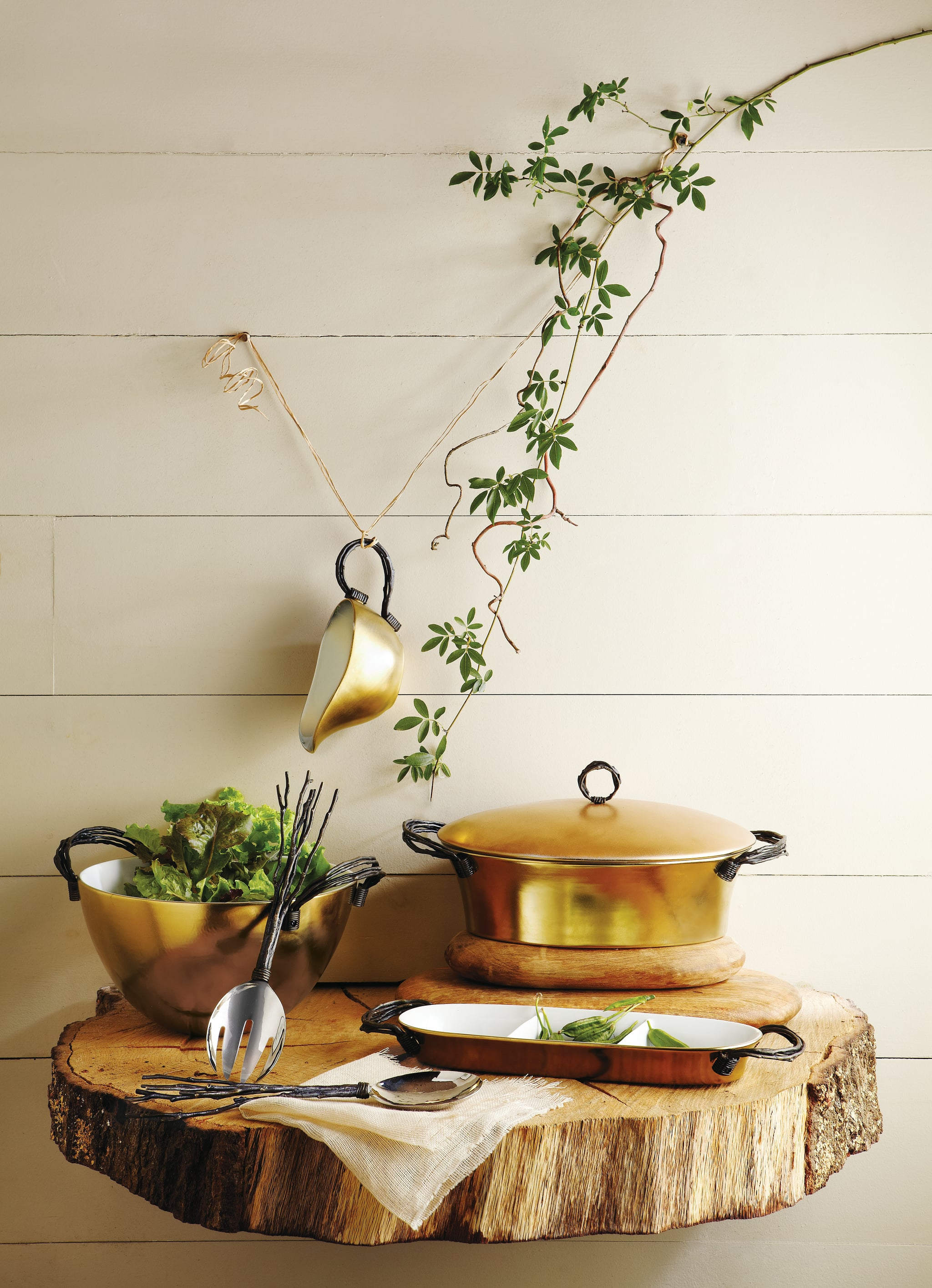 Michael Aram Gilded Twig Collection