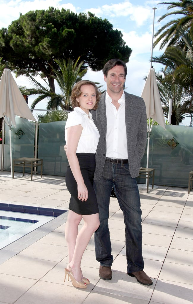 Pictures of Jon Hamm in Cannes