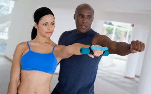 Fit Tip: Split a Personal Trainer Session With a Friend