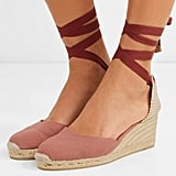 Castaner Carina Canvas Wedge Espadrille Sandals