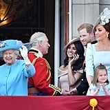 The Royal Family at Buckingham Palace