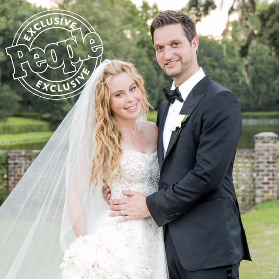 Tara Lipinski Reem Acra Wedding Dress