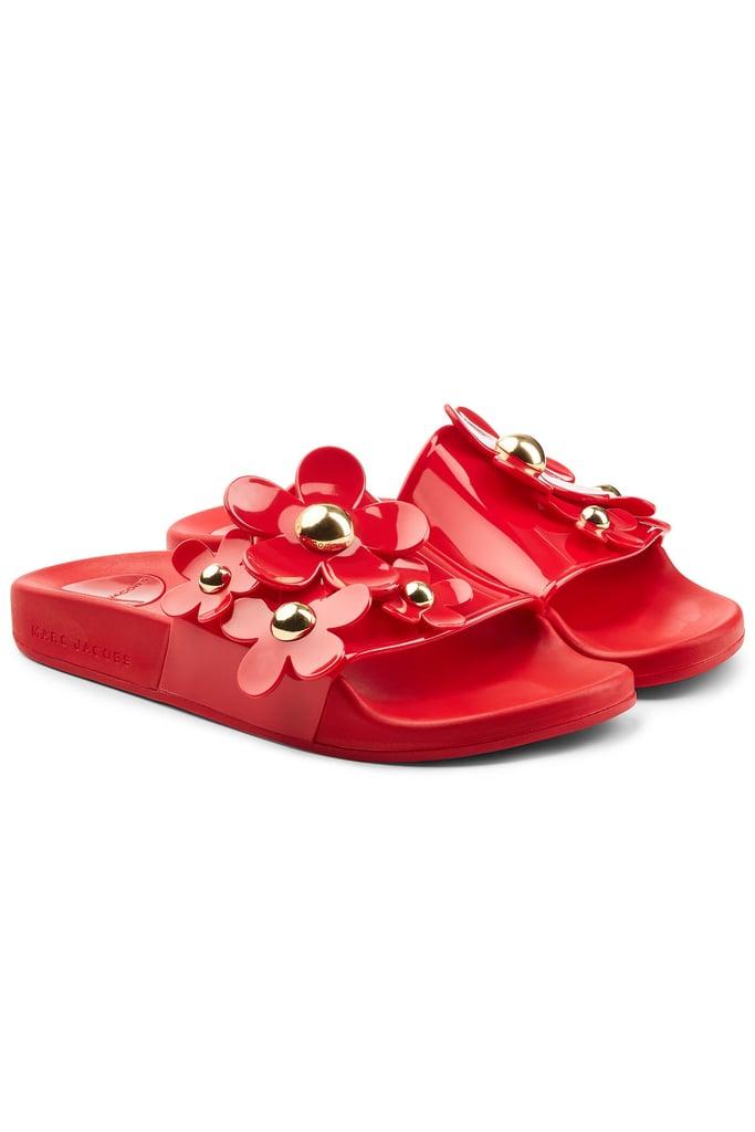 46ca90039 Marc Jacobs Rubber Slides | Designer Shoes on Sale 2019 | POPSUGAR ...