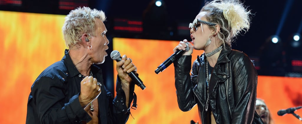 """Miley Cyrus and Billy Idol Give Us More, More, More While Performing """"Rebel Yell"""""""
