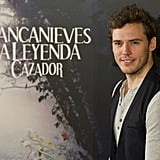 Sam Claflin was in attendance for the Snow White and the Huntsman photocall in Madrid.