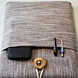 Organic laptop sleeve ($35)