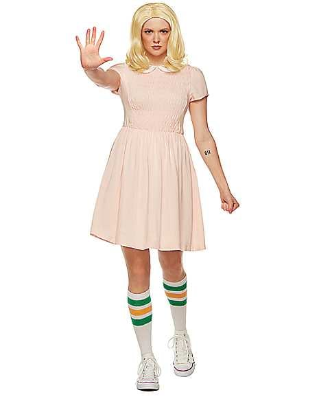 Adult Short-Sleeved Eleven Costume