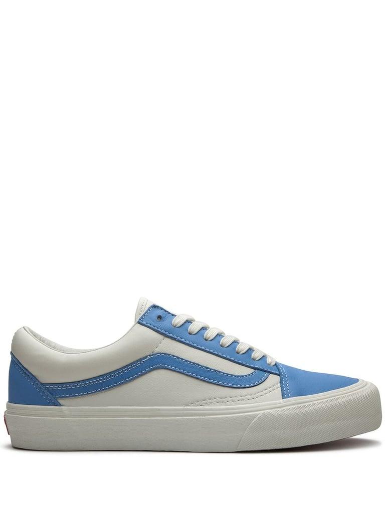 Vans Old Skool Leather Low-Top Sneakers