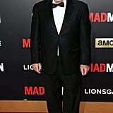Robert Morse chose a black and white look, following the evening's theme with a simple bow tie and completing his look with —yep, you guessed it —a pair of sleek shoes! Sorry, Bert Cooper.
