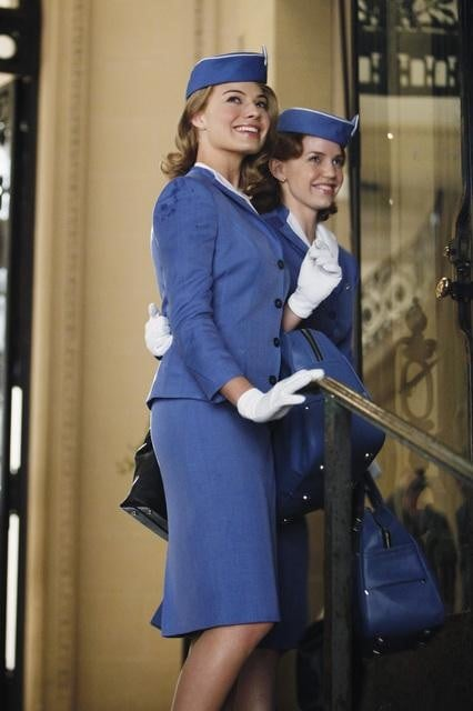 Margot Robbie and Kelli Garner in ABC's Pan Am.	