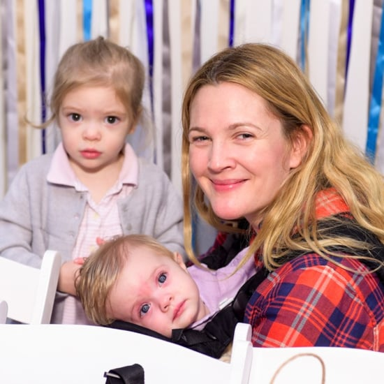 Drew Barrymore Cute Family Pictures