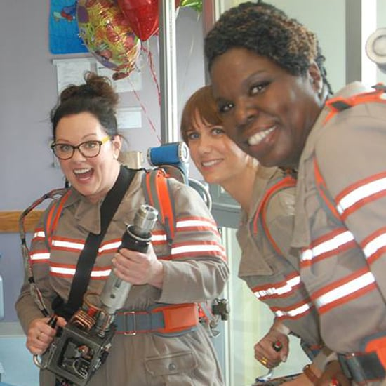 Female Ghostbusters Hospital Visit August 2015