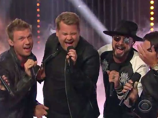 James Corden Joins the Backstreet Boys for a Performance of 'Everybody (Backstreet's Back)'
