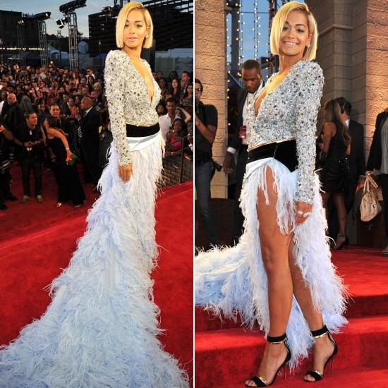 2013 MTV VMAs: Rita Ora in Alexandre Vauthier
