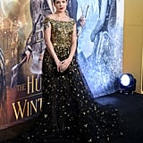 Halsey at The Huntsman: Winter's War's premiere in California.