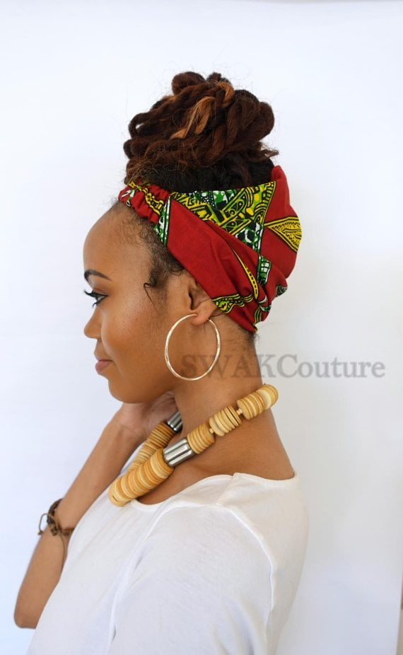 Swak Couture Satin Lined Head Wrap
