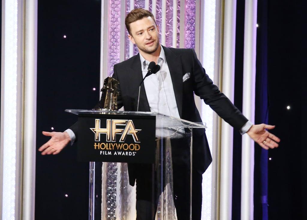 Resultado de imagem para hollywood film awards 2016 justin