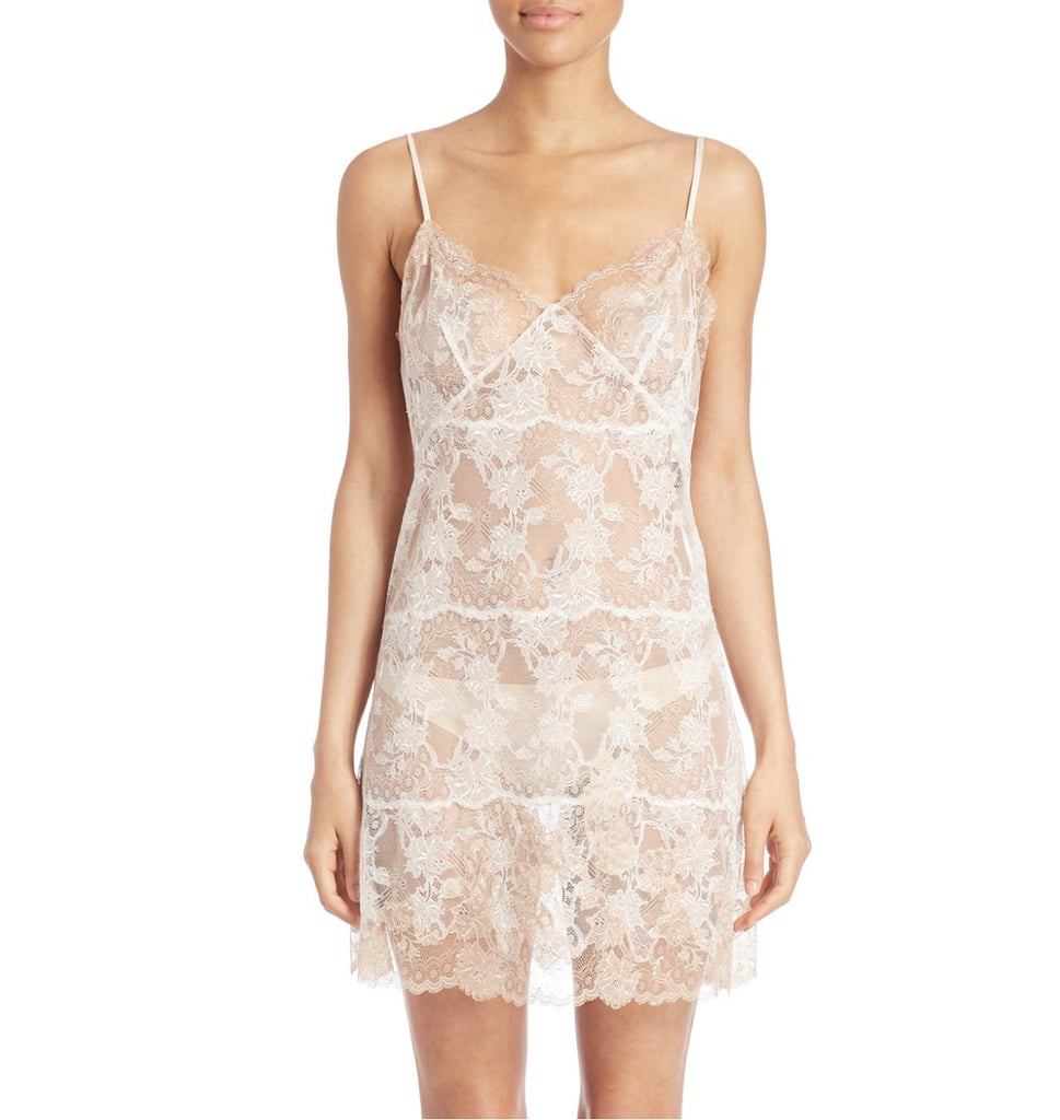 Natori Chantilly Lace Chemise ($550)
