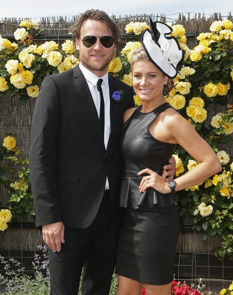 Cameron McGlinchey and Natalie Bassingthwaighte.