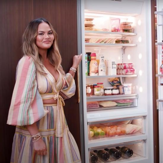 See Chrissy Teigen's Refrigerator Organization Tips